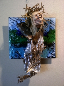 "Old Woman in Rusted Clothing 2010 5""x7"""